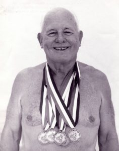 Cureton with 5 medals